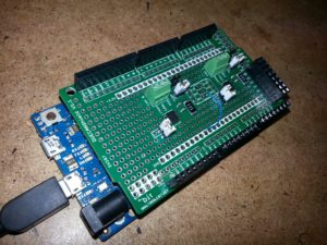 CAN protoshield for the arduino DUE